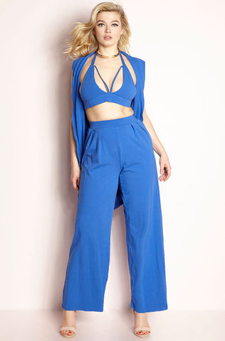 "Rebdolls ""Bite Me"" Two Piece Midi Set"