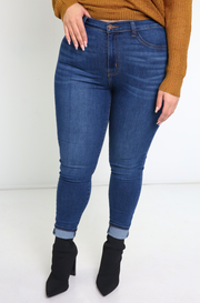 Blue Jean Skinny Jeans Plus Sizes