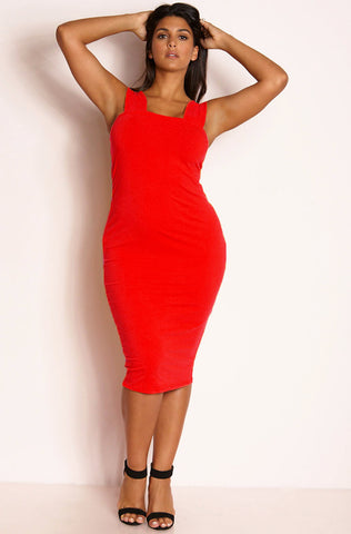 "Rebdolls ""Atlantis"" Crew Neck Maxi Skater Dress"