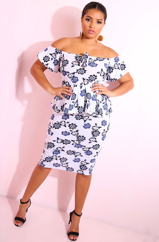 "Rebdolls ""You Got Me"" Pleated Two Piece Set - FINAL SALE"
