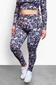 "Rebdolls ""Born Wild"" Ruched Back High Waist Leggings"