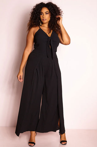 "Unbranded. ""Kiss In The Backseat"" Cinched Jumpsuit"