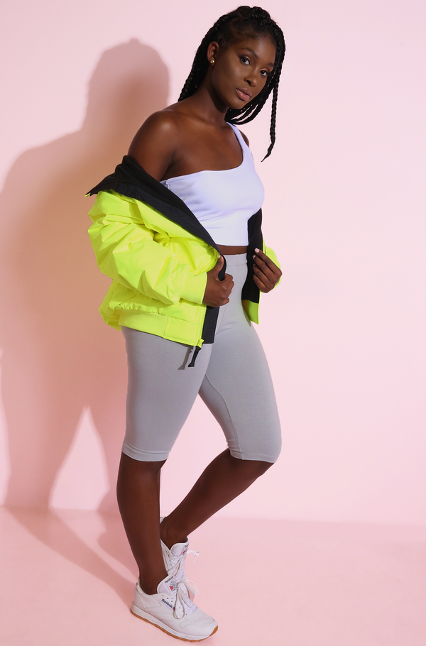 Spring Neon Jacket Plus Sizes