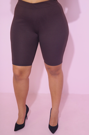 "Rebdolls ""Cover Story"" High Waist Bermuda Shorts- FINAL SALE"