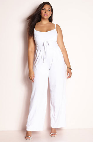 "Rebdolls ""Press Conference"" Halter Jumpsuit"