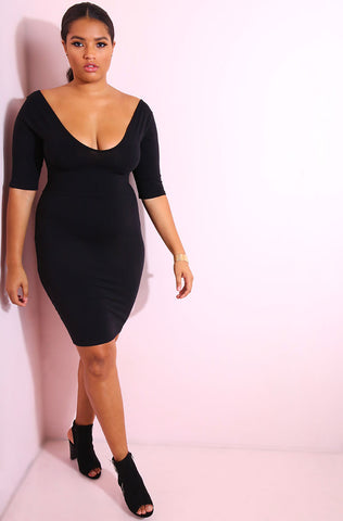 "Rebdolls ""Huntress"" Asymmetrical Faux Wrap Dress- FINAL SALE CLEARANCE"