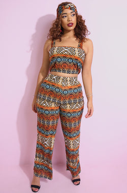 "Rebdolls ""Drives Me Wild"" Wide Leg Pants"