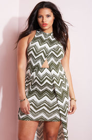 Olive Mini Bodycon Skirt plus sizes