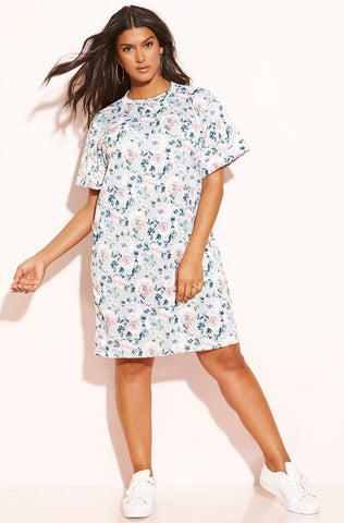 "Rebdolls ""The Hearing"" Open Sleeve Skater Dress"
