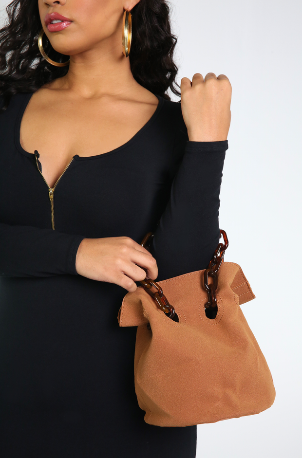 "Rebdolls ""Might Be"" Bucket Bag"