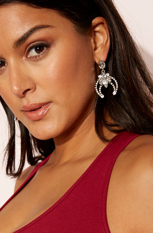 "Unbranded. ""Make It Yours"" Tear Drop Hoop Earrings FINAL SALE"