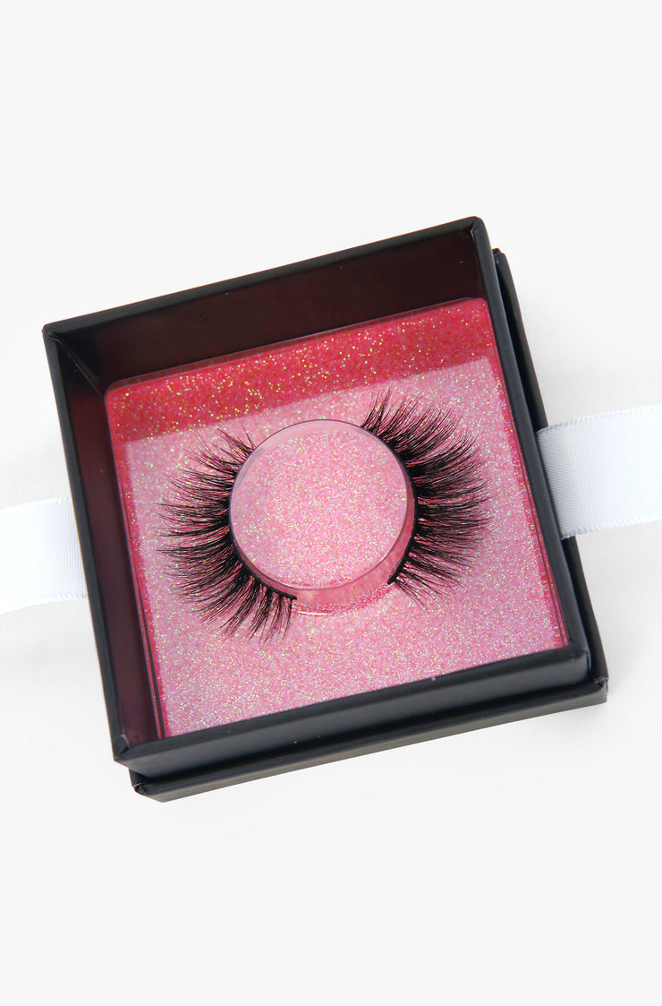 Black Volume Reusable Mink Eye Lashes