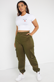 Olive Cargo Pants Plus Sizes