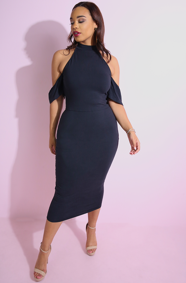 "Rebdolls ""Who We Are"" Drop Sleeve Midi Dress"