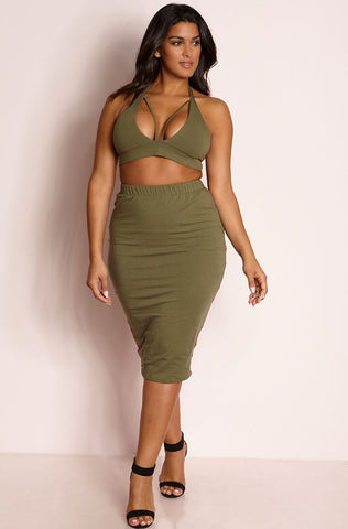 "Rebdolls ""Better Yet"" Tank Style Top & Maxi Skater Set"