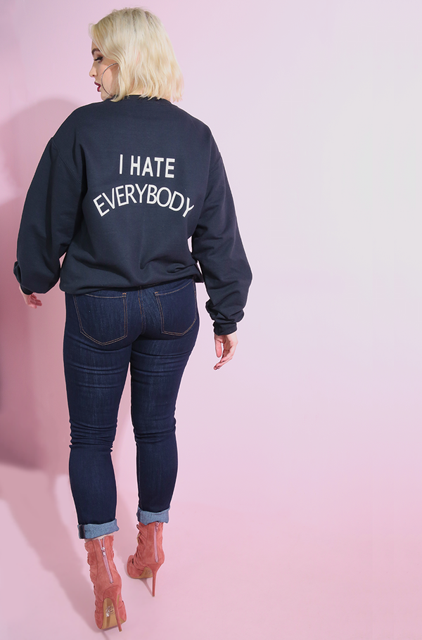 "Rebdolls ""I Hate Everybody"" Sweatshirt"