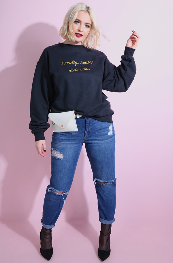 "Rebdolls ""I Really Don't Care"" Sweatshirt"