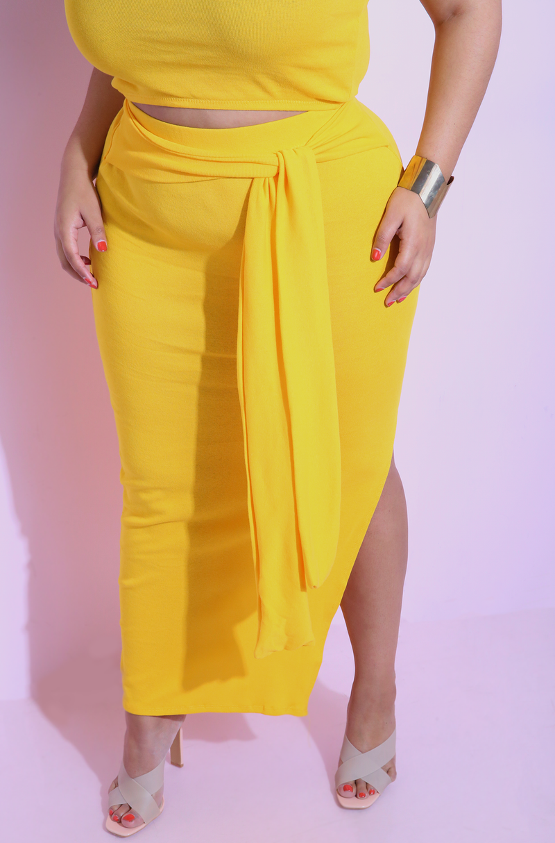 "Rebdolls ""In Plain Sight"" Tank Crop Top & Maxi Skirt Set"