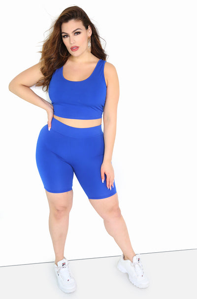 "Rebdolls ""Keep It Easy"" High Waist Cropped Leggings"