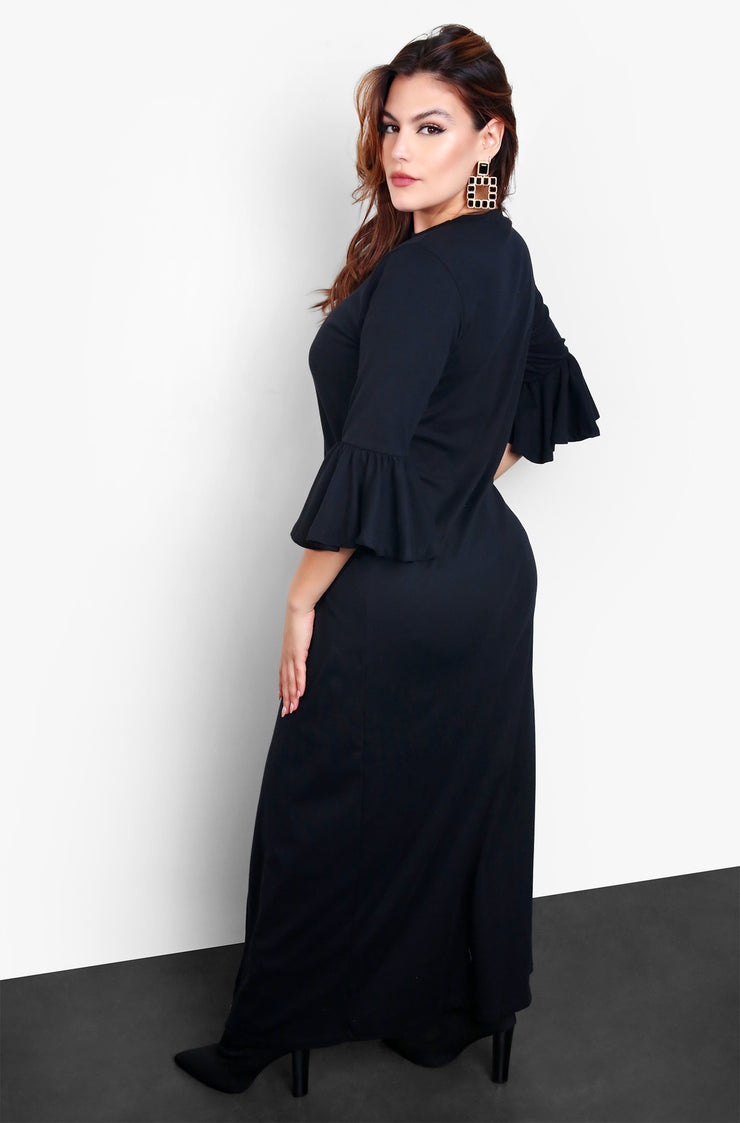 "Rebdolls ""Lighthearted"" Maxi Long Sleeve Top"