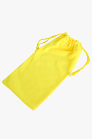 Yellow Sunglasses Pouch