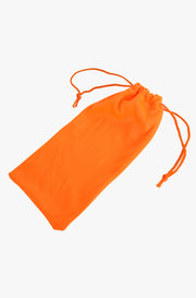 Orange Sunglasses Pouch