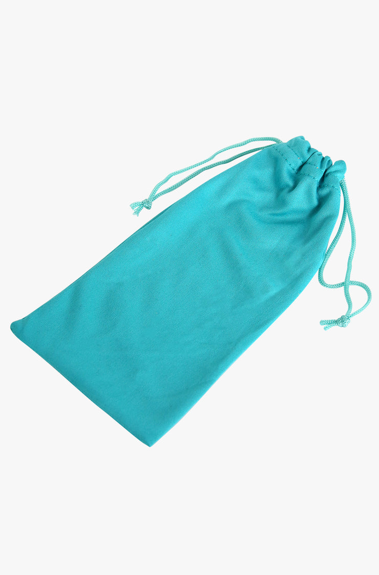 Teal Sunglasses Pouch