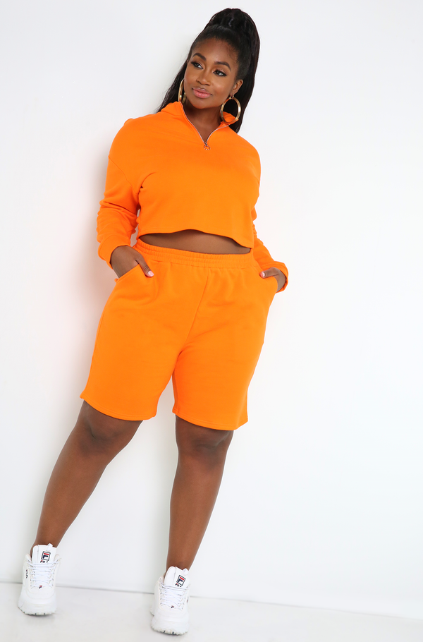 "Rebdolls ""Look Alike"" Insulated Cropped Sweater"