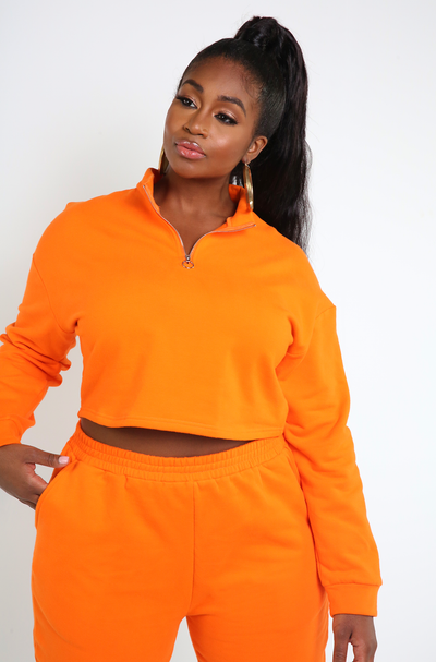 "Rebdolls ""Look Alike"" Insulated Cropped Sweater- FINAL SALE"