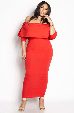 "Rebdolls ""Lovers Only"" Wrap Midi Dress"
