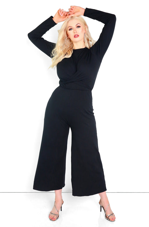 "Rebdolls ""Make The Case"" Culotte Jumpsuit"