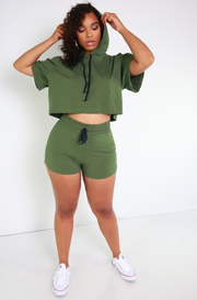 "Rebdolls ""Margin Of Error"" Drawstring Booty Shorts- FINAL SALE"
