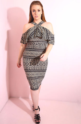 "Rebdolls ""No Comparisons"" Draped Dress"