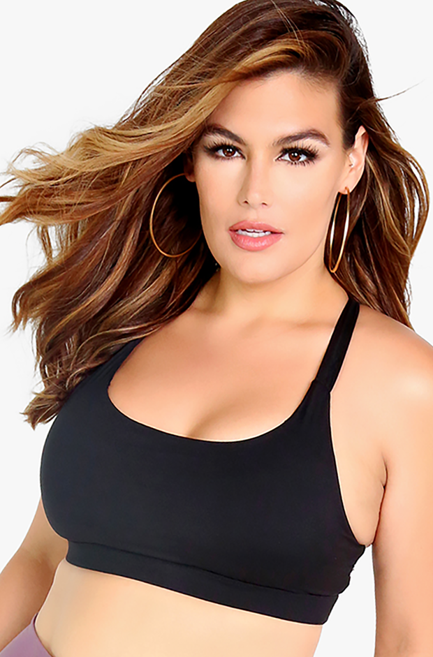 Black Sports Bra Plus Sizes
