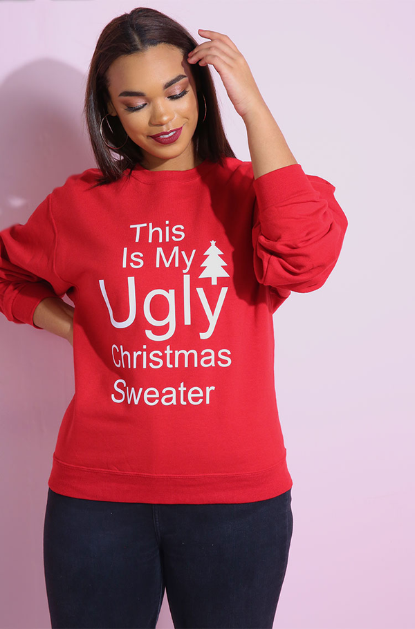 "Rebdolls ""Ugly Christmas Sweater"" Sweatshirt"