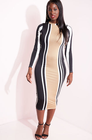"Rebdolls ""Superficial"" Turtleneck A-Line Lightweight Dress"