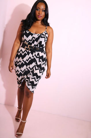 "Rebdolls ""Good At Goodbyes"" Printed Ponte Dress"