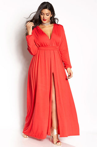 "Rebdolls ""Plead Guilty "" Maxi Gown Dress"