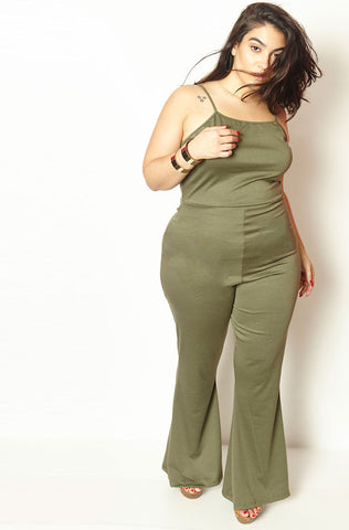 "Rebdolls ""Treat You Better"" Ribbed Cropped Jumpsuit - FINAL SALE CLEARANCE"
