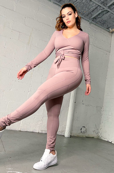 "Rebdolls ""On Track"" High Waist Leggings"