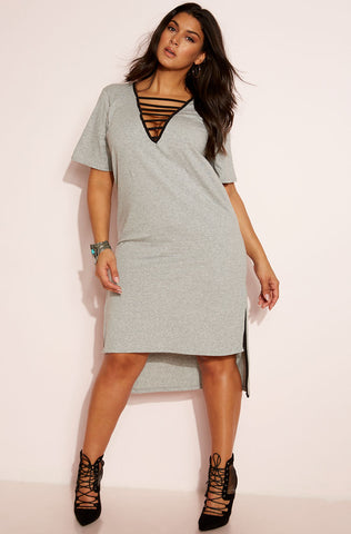 "Rebdolls ""No Limits"" Button Down Maxi Dress"
