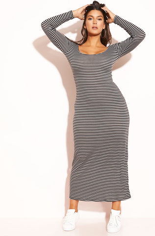 "Rebdolls ""Oh Yes"" One Shoulder Maxi Dress"