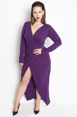"Rebdolls ""I Should Give You Up"" Bell Sleeve Mid Calf Dress - FINAL SALE CLEARANCE"
