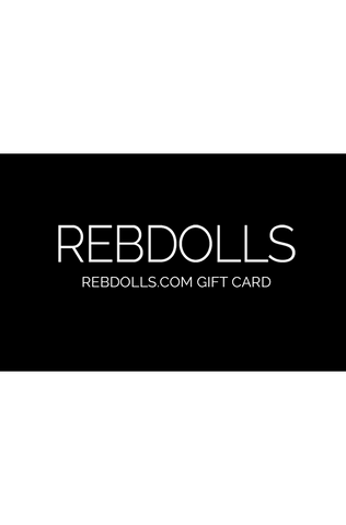 Rebdolls Physical Gift Card