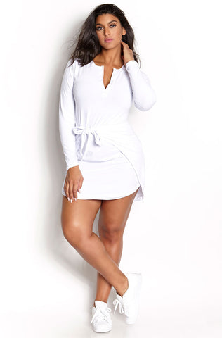 "Rebdolls ""Rumor Has It"" Halter Mini Dress"