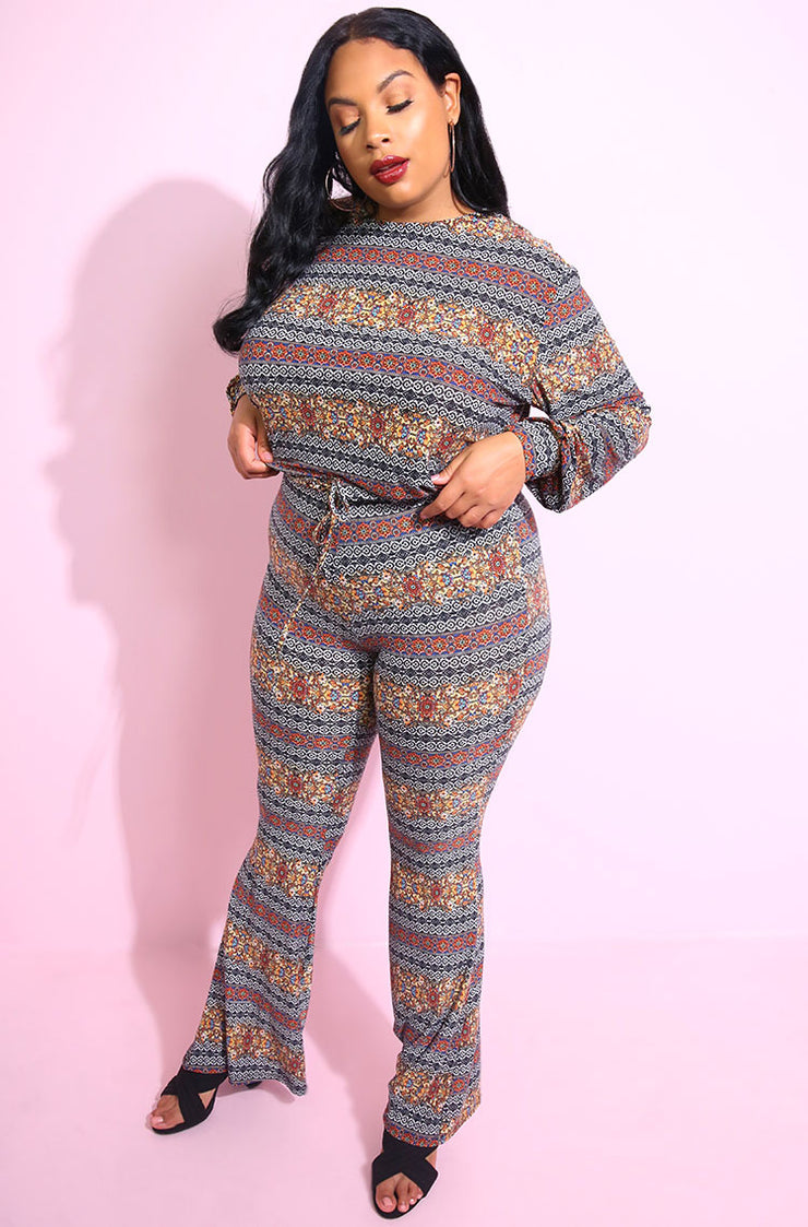 Black Bell Bottom pants plus sizes