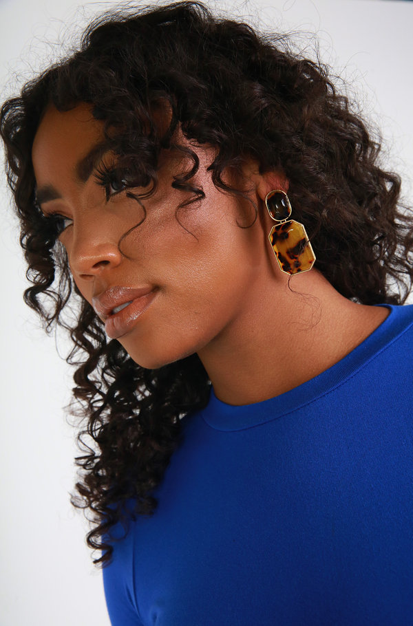 Turtoise Stone Earrings