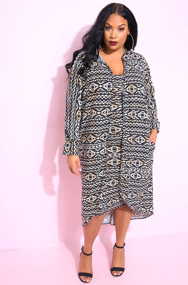 Black flutter sleeve cardigan plus sizes