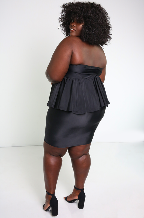 "Rebdolls ""The Truth"" Bodycon Mini Skirt- FINAL SALE"