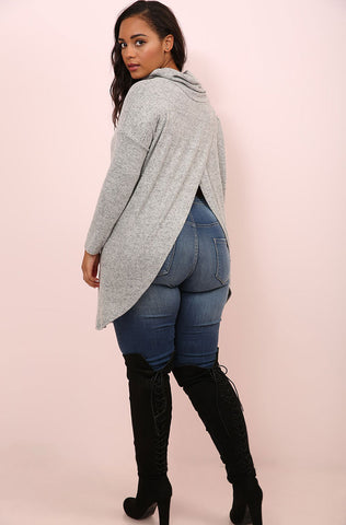 "Rebdolls ""Rock Your Body"" Waterfall Fleece Coat"